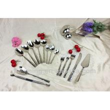 Conjunto de jantar de alta qualidade, conjunto de talheres, faca e garfo