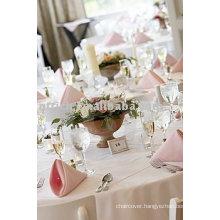 Visa table linen,polyester fabric tablecloth