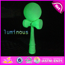 Educational Toy Wooden Colored Kendama for Kids, Kendama Toy Colorful Wooden Kendama, Wooden Kendama Toy with 16*6.8*5 Cm W01A035