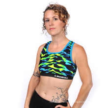 Custom Sublimation Sports Bra, Running Bra,
