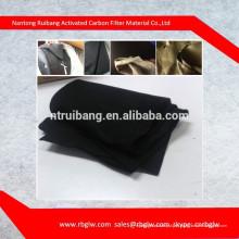 FORNECIMENTO todos os tipos de degerming remoção de odores rolo de carbono filtro de ar de carbono filtro de mídia de carbono ativado Meios de filtro de carbono e material de rolo de carbono filtro de mídia ativado um filtro de carbono ativado filtro de t