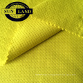 100% polyester brushed butterfly mesh fabric for winter garment