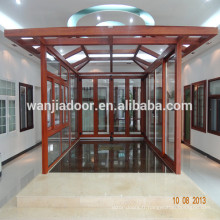 Wanjia solarium en aluminium, maison de jardin, maison de verre