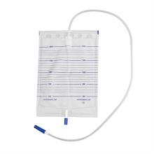 Sac d'urinoir économique en PVC de qualité médicale de l'hôpital 2000 ml