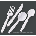 Popular descartável plástico Cutlery Set Knife 3G