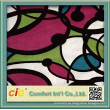 Tela del sofá del terciopelo del Warp-knitted para la materia textil casera