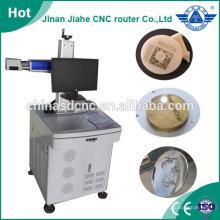 Superfície de marcação fibra laser máquina gravura em metal 10w