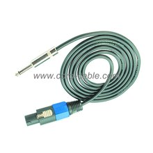Cable de altavoz DT 2 X 4.0 mm² Jack Mono de Speakon