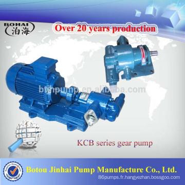 Prix usine - Pompe à engrenages antidéflagrante de la série KCB pour alcool