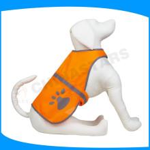 Collares de perro de alta visibilidad collar de perro reflexivo lindo perro reflexivo chaleco para la seguridad