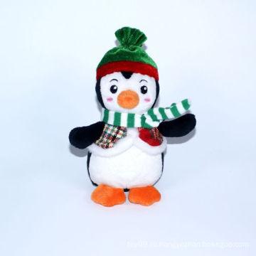 Плюшевые Рождественские Украшения Пингвин