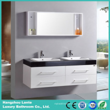 Newest Design Bath Vanity Cabinet with Double Sink with Mirror (LT-C004)