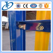 Security steel fencing powder coated fencing