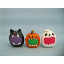 Хэллоуин Тыква Керамические изделия и ремесла (LOE2373-6)