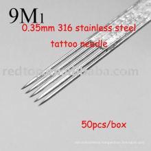 Professional stainless steel tattoo needle