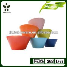Reciclado, planta, fibra, Chinês, arroz, tigela