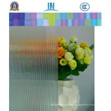 4mm, 5mm, 6mm Patterned/Figure Shower Door Glass for Decoration