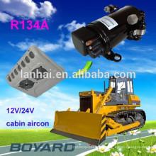 Электрические аксессуары для автомобилей R134A электрический компрессор кондиционера воздуха постоянного тока 72V / 320V для автомобильного кондиционера для низкой скорости