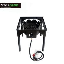 Portable Camp Gas Grill Adjustable height