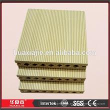 Placas de suelo de plástico compuesto de plástico de madera