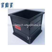 Export 150*150*150mm Plastic Cube Concrete Testing Mould