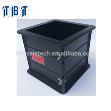 Экспорт 150*150*150мм пластиковый куб для испытания бетона плесень