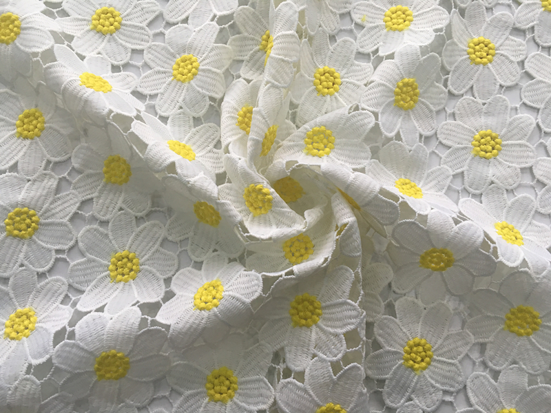 Child-dress Chemical Lace Fabric
