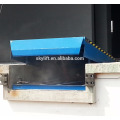 electric loading dock ramp leveler with hydraulic pump