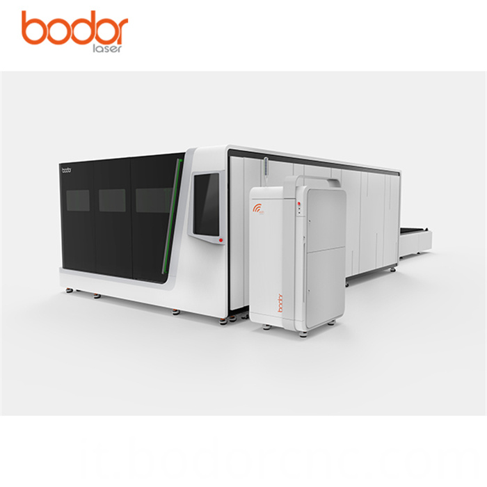 Fiber laser cutting machine with IPG laser