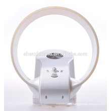 New Bladeless Fan - 12 Inch - With LED Light & Remote in white