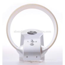 Новый bladeless вентилятор - 12 дюймов со светодиодной подсветкой и пультом дистанционного управления в белый