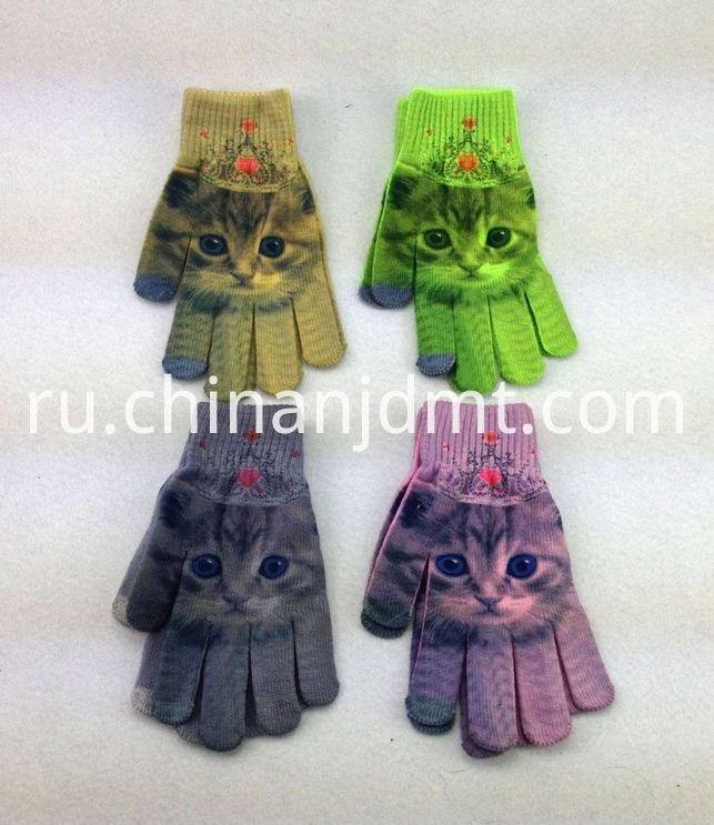 Printing Touch Gloves 2