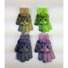 Magic Cat Guantes de impresión
