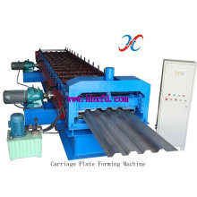Plataforma de piso de alta velocidade que forma a linha de produção da máquina