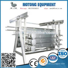 used poultry plucker for chicken slaughter line