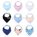 new adjustable 100% cotton softextile baby bibs