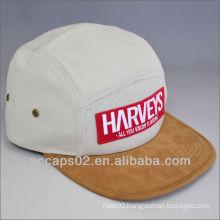 2013 leather strap 5 panel hats/caps