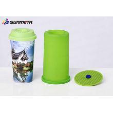 3d braçadeira de silício para 3d sublimação viagem caneca braçadeira para máquina de sublimação 3d