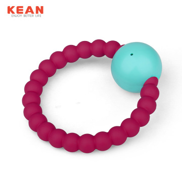 I-Wholesale Food Silicone Isongo Teething Yezingane