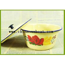 Enamel Mixing Bowl Soup Bowl