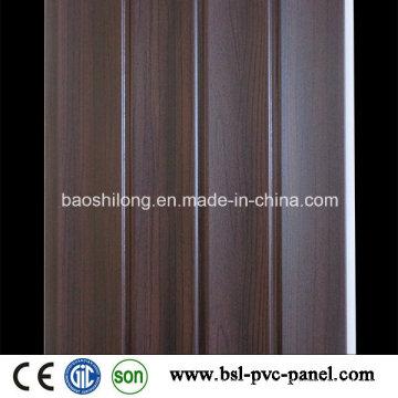 Panneau en PVC laminé Panneau mural en PVC Panneau 25cm Wave