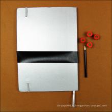 Le carnet promotionnel d'école de papier réutilisé par conception personnalisée par cadeau promotionnel / livre fait sur commande de journal