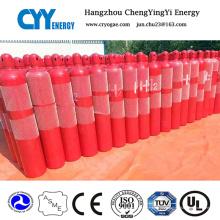 50L Helium Sauerstoff Stickstoff CO2 Nahtlose Stahl Gas Zylinder