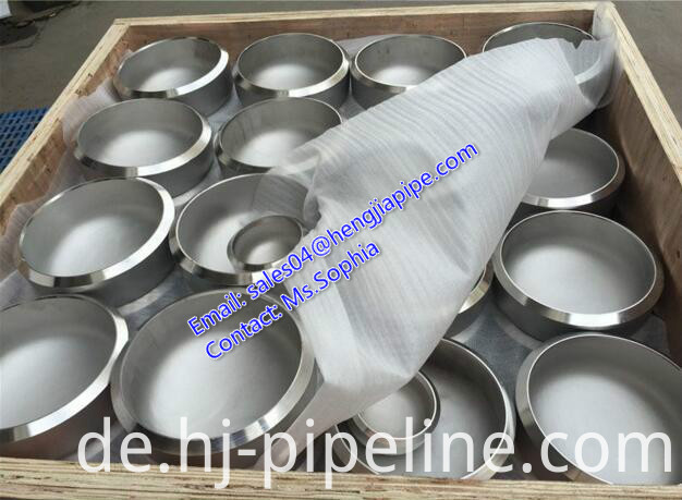 stainless steel A403 WP310 cap