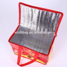 Alta Qualidade Não Tecido Nylon Cooler Saco Take-Out Pizza Bag De Origem Fabricante