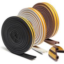 Авто силиконовые / EPDM резиновые уплотнительные полосы для деревянных дверей / стекла