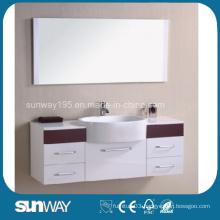 Hot Sale Wooden Veener Bathroom Vanity