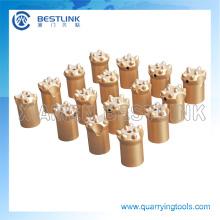 Bocados de botão da broca de rocha do atarraxamento do carboneto de tungstênio da fábrica de Bestlink