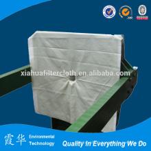 Matériau filtrant en polyester pour tissu filtrant