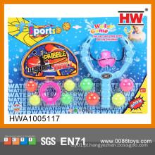 Engraçado plástico basquete jogo de tabuleiro 9CM slingshot brinquedo
